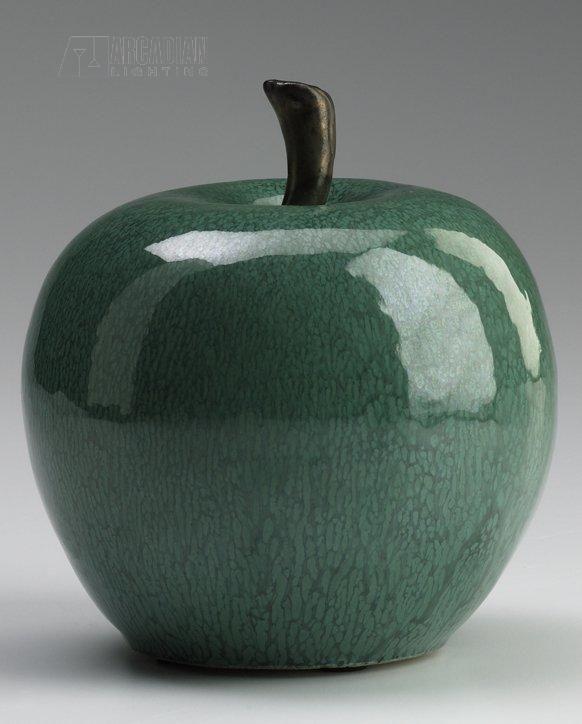 Cyan Design 02062 Jade Ceramic Apple Sculpture CN-02062