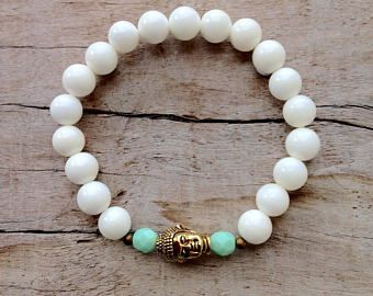 Boheemse sieraden, Buddha armband, yoga sieraden, beachcomber Boheemse armband