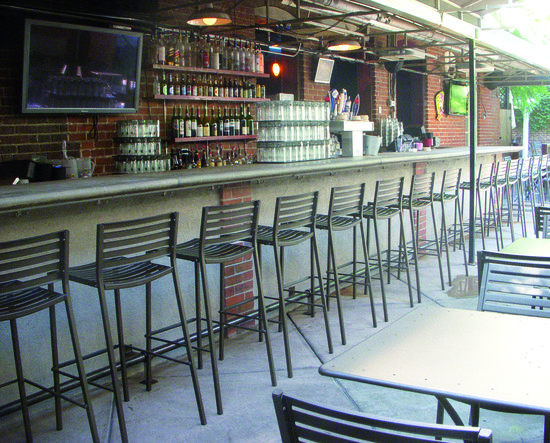 The Tavern - Denver, CO #restaurantdesign #hospitalitydesign #emu #emuamericas #patiodining