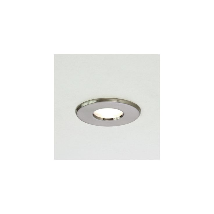 Astro Lighting 5660 Kamo Brushed Nickel Bathroom Downlight IP65 | Width: 87mm | Cut Out: 76mm | Recessed Depth: 98mm | £7.46 excl bulb