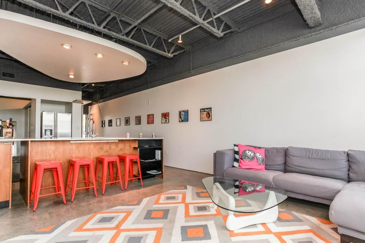 Modern Oasis in Downtown Austin in Austin.  This condo is in East Austin but for the adventurous, is a cool space close to the reception venue.