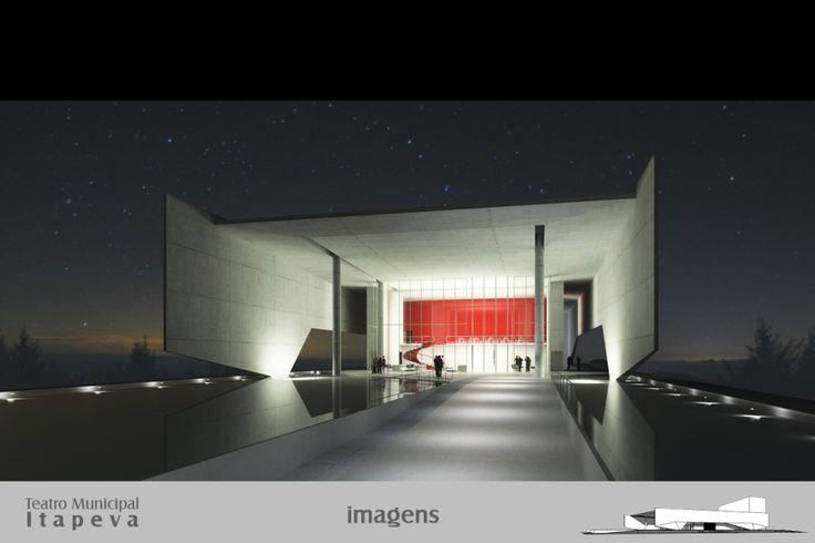 Teatro Municipal de Itapeva – SP – 1º colocado | concursosdeprojeto.org