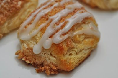 Cream Cheese Crescent Rolls with Almond Cinnamon Sugar