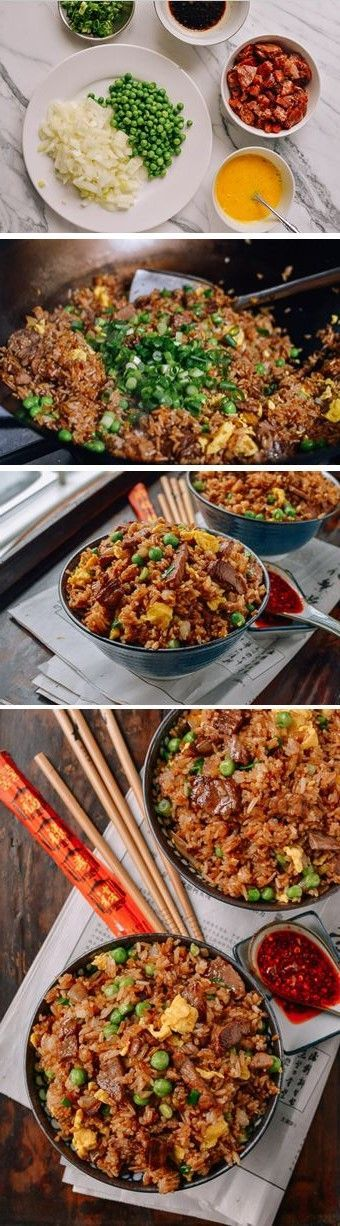 Classic Beef Fried Rice recipe by the Woks of life.