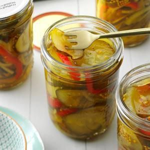 Favorite Bread & Butter Pickles Recipe