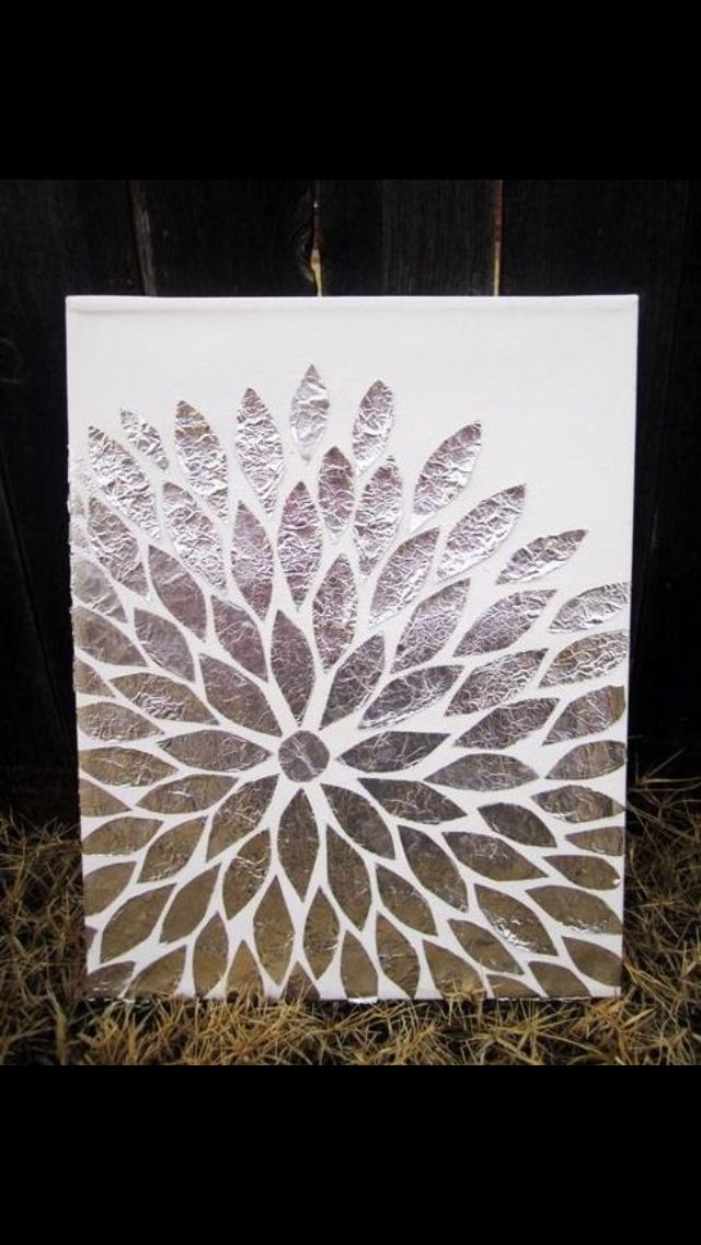 aluminium foil painting instructions procedure