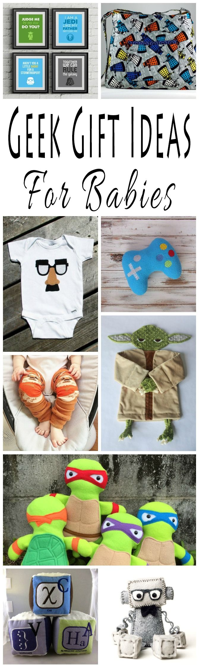 The Best Geek Gift Ideas For Babies
