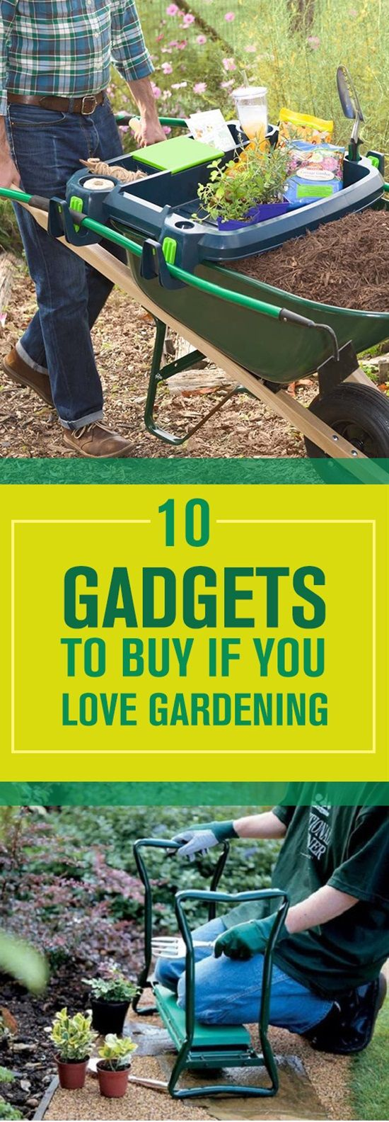 You gardening lovers deserve nice and useful gadgets to make gardening easier and more enjoyable for you. Here are our list of the best 10 gadgets you can buy to make your beautiful hobby more enjoyable.