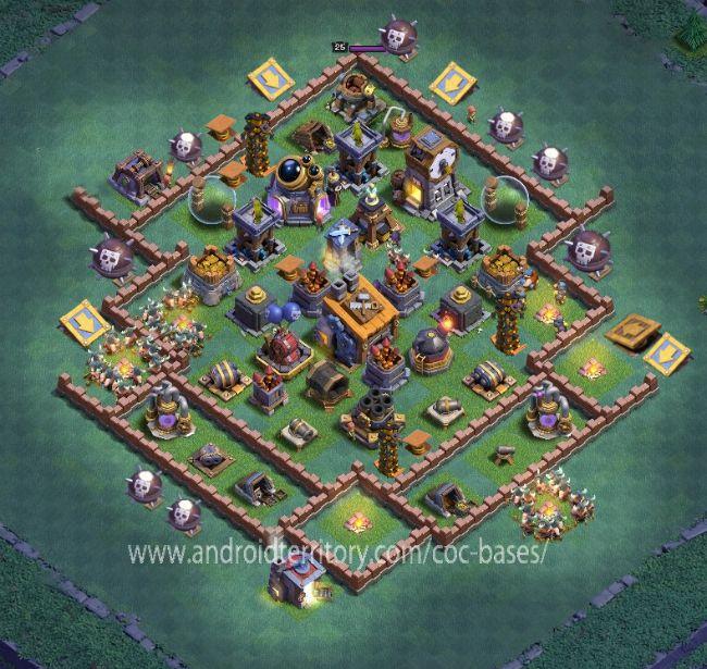 Coc Builder Base Th 8 10