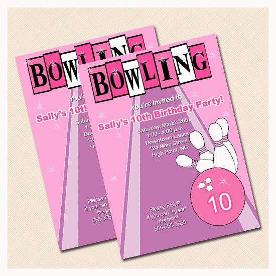 12 best Retro Bridal Shower Bowling Party images on Pinterest - bowling flyer template free
