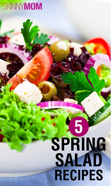 These 5 Fresh Spring Salad Recipes are to DIE for!!!! The weather is turning around and the markets are opening so now is the time for a fresh salad!!!