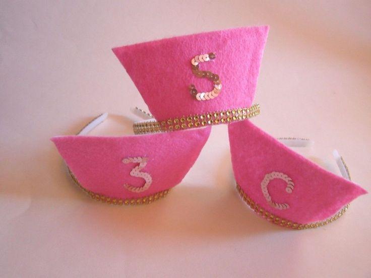 Scream Queens Pink Nurses Initials Golden Headband Hat Costume 2nd Season 3 #Headbands #halloween
