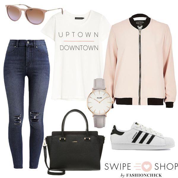 Het duurde even maar we hebben weer een door Swipeandshop.nl samengestelde outfit voor je klaar staan. Benieuwd waar je deze items koopt? Klik op de link of download de What to Wear app.