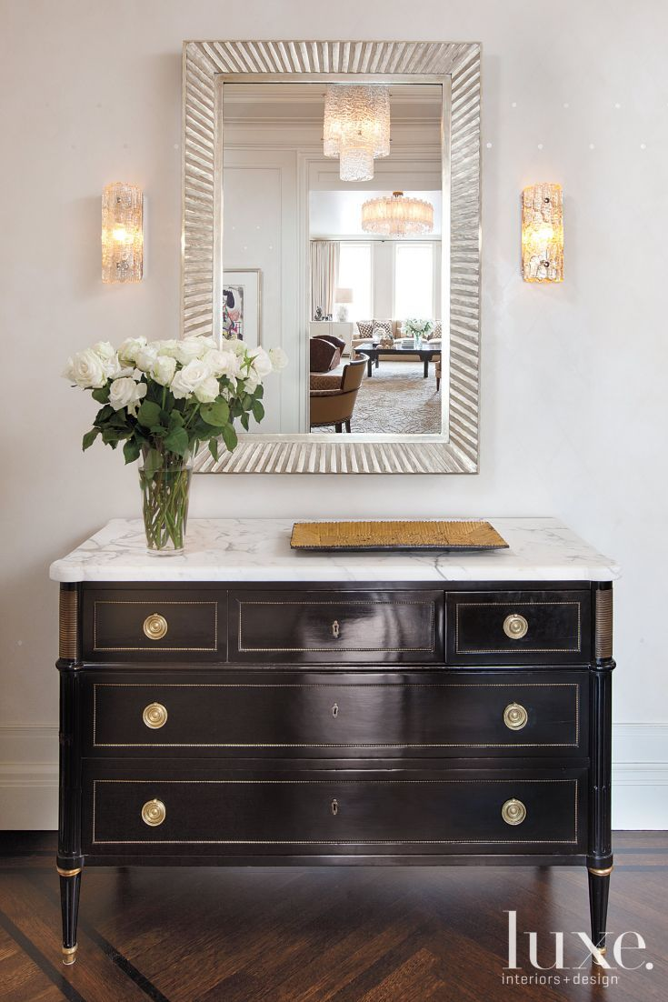 Beautiful Front Hall Chest