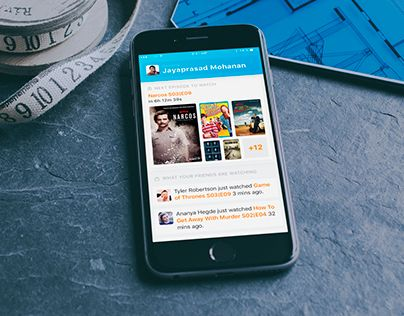 """Check out new work on my @Behance portfolio: """"Social TV Show Tracker for iOS"""" http://be.net/gallery/43385479/Social-TV-Show-Tracker-for-iOS"""