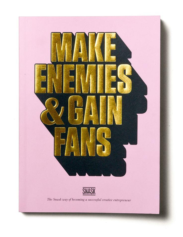 A book on entrepreneurship by Snask.