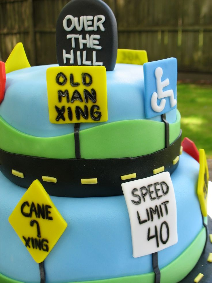 14 best over the hill images on Pinterest Cake decorating