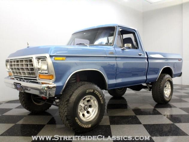 AutoTrader Classics - 1978 Ford F150 Other Blue Other Other Other   Classic Trucks   Charlotte & 46 best Classic Ford Truck Paint images on Pinterest   Classic ... markmcfarlin.com