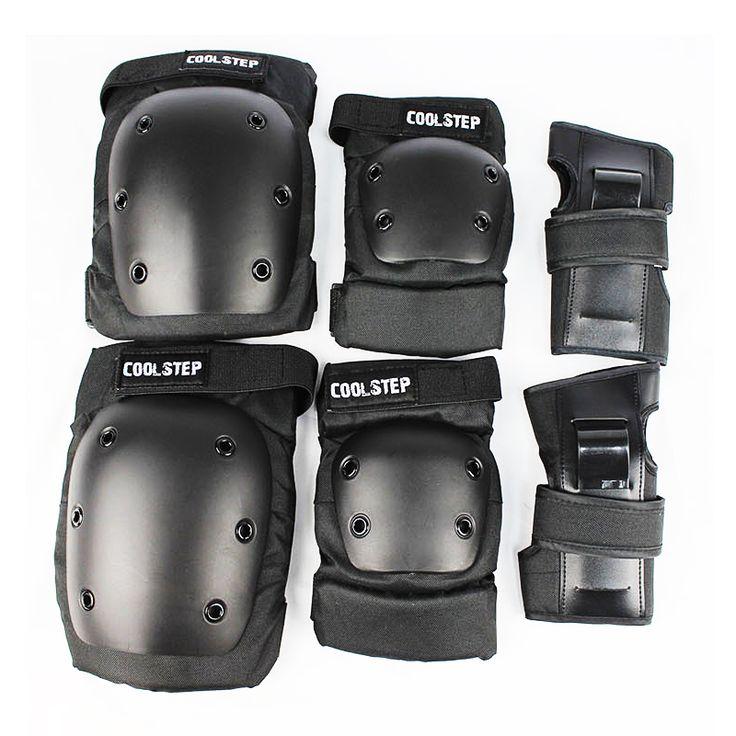 Free Shipping skateboarding gear Outdoor skateboard knee  protector Palm ondersteuning Elleboog set Extreme sport  #Affiliate