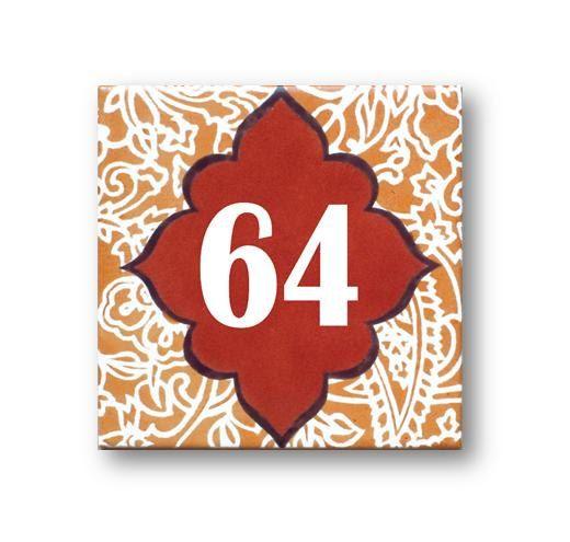 Exterior Paint On Ceramic Number Plaque