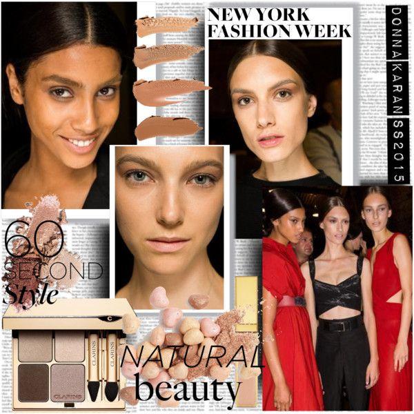 NYFW S/S15 Donna Karan Make up Natural Beauty