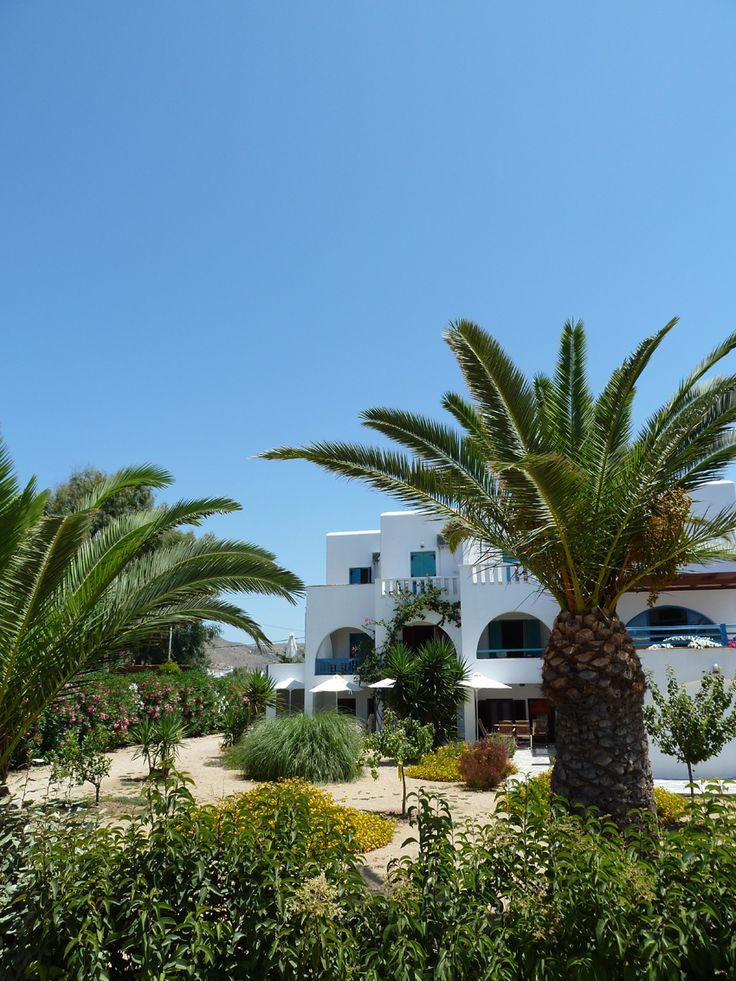 the Garden of Villa Naxia, Naxos, Greece
