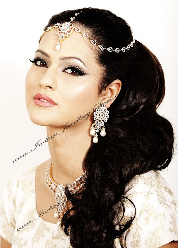 Indian Bridal Head Jewellwry