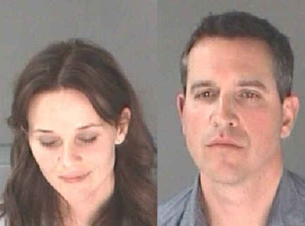 Reese Witherspoon  Husband Jim Toth's Mugshots Revealed