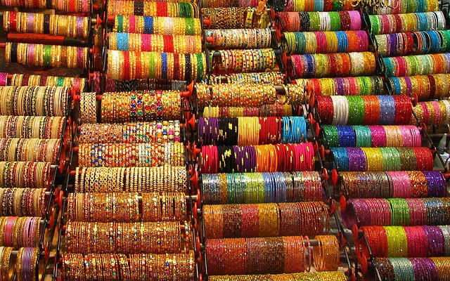 India - Colours of India - 017 - bangles - close-up by mckaysavage, via Flickr