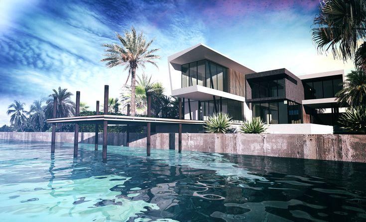 Les 10 meilleures images du tableau villa sur pinterest - Residence principale de luxe kobi karp ...