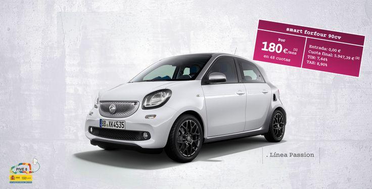 oferta smart forfour 90cv. Ahora con entrada a 0€.