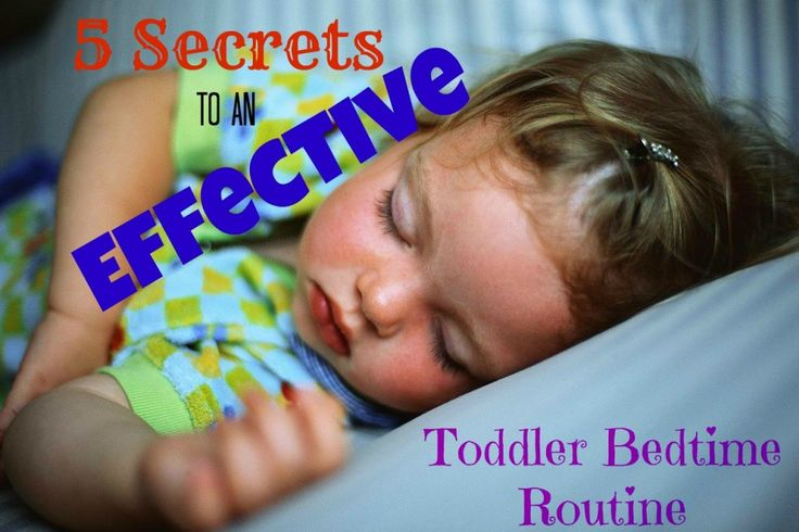 I agree with all of this... very effective in our house with all three kids :)  5 Secrets to an Effective Toddler Bedtime Routine