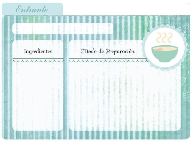 Imprimibles by Srta. Edwina #4: para las recetas de la abuela   Fuxia Atelier