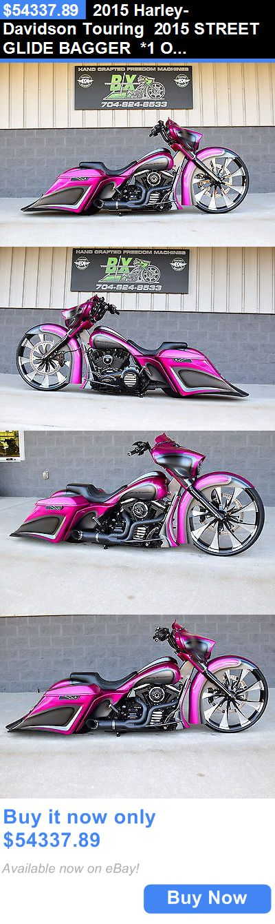 Motorcycles: 2015 Harley-Davidson Touring 2015 Street Glide Bagger *1 Of A Kind* 30 Wheel! Over $70K Inested!! Stunning! BUY IT NOW ONLY: $54337.89