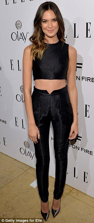 Odette Annable in Paper London (2014 Elle's Women in Television Celebration)