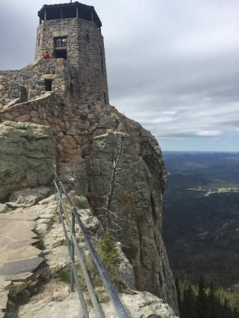 Harney Peak, highest point in South Dakota