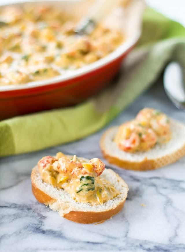Spinach Crawfish Dip