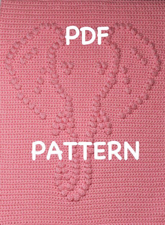 Elephant Baby Blanket Pattern  Crochet Pattern  by TheBabyCrow, $4.00