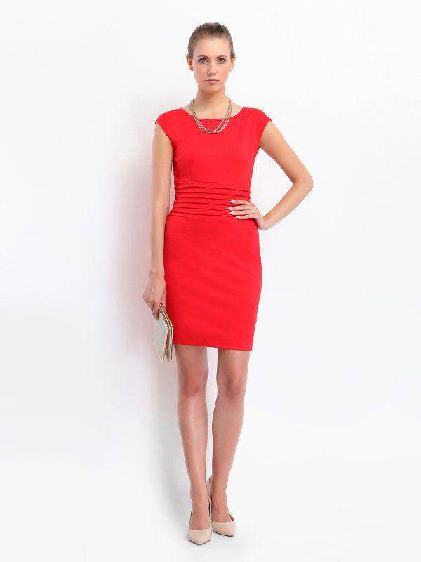 Czerwona #sukienka Top Secret