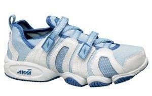 Avia+Shoes+for+Women | Avia Women's 606 Aqua Trainer Water Aerobics Shoes Size 10 white/sky ...