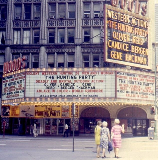 The former Woods Theater, 54 W. Randolph (Chicago Pin of the Day, 9/14/2015).