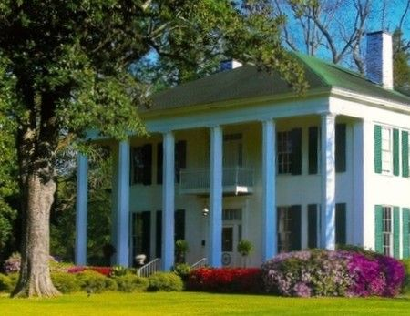 Golladay hall c 1852 is a piece of living history in for Southern living homes for sale