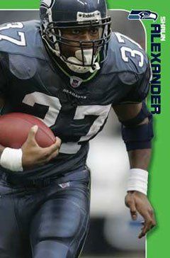 Shaun Alexander Seattle Seahawks Posters