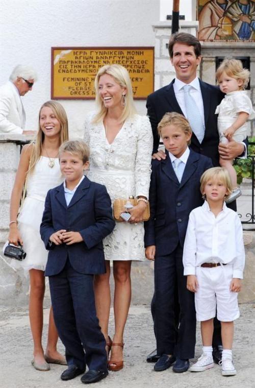 PavlosandMarieChantalFamily arie-Chantal and Pavlos have five children: Princess Maria-Olympia (1996), Prince Constantine Alexios (1998), Prince Achileas-Andreas (2000), Prince Odysseas-Kimon (2004), Prince Aristidis-Stavros (2008).