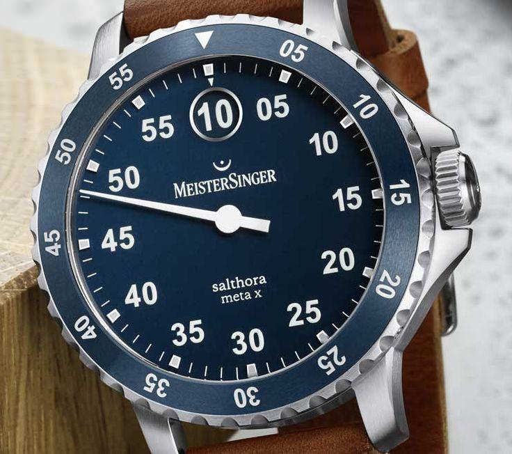 Salthora Meta X: die sportliche Einzeiger-Uhr für jedes Terrain