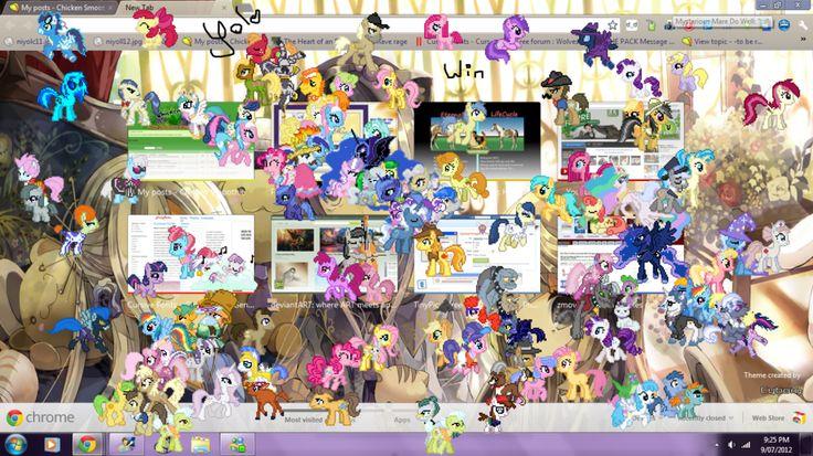 Ponies Win Yolo By Acidixz On Deviantart Pony Yolo Deviantart
