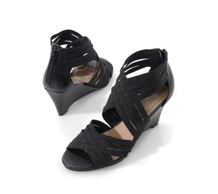 Sandály na klínku   blancheporte.cz #blancheporte #blancheporteCZ #blancheporte_cz #shoes #boty #sandals