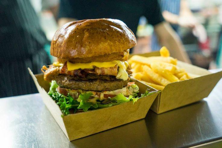 Our famous Ekka burger!