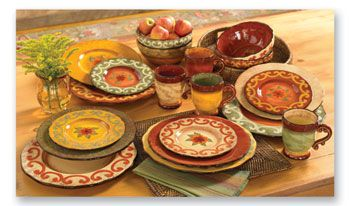 273 best Tuscan Dinnerware/Serving Pieces images on Pinterest ...