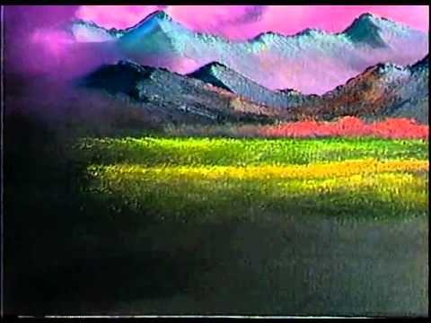 Боб Росс - Учимся рисовать спокойную долину (4 сезон) - YouTube